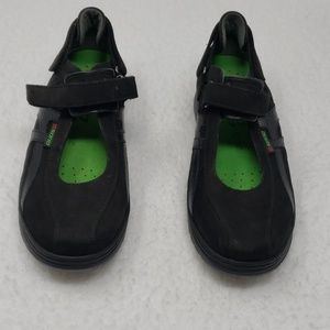 Mary Jane Black Suede Sneakers